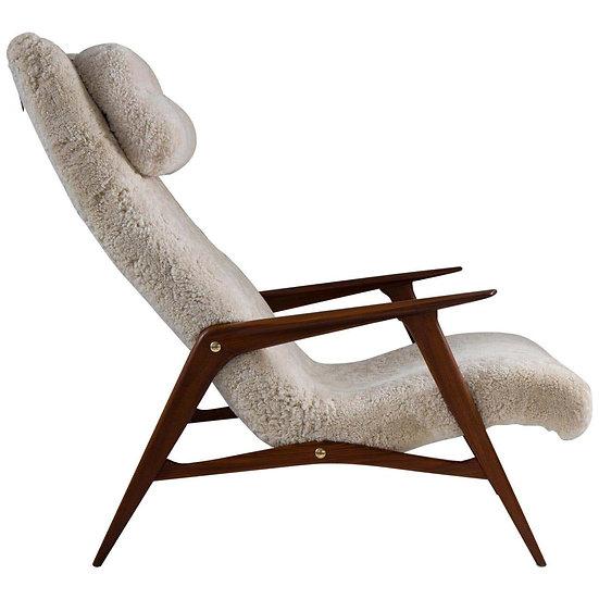 Scandinavian Mid Century Lounge Chair by Jio Möbler