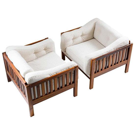 "Scandinavian Midcentury Rosewood Lounge Chairs ""Monte Carlo"", 1965"