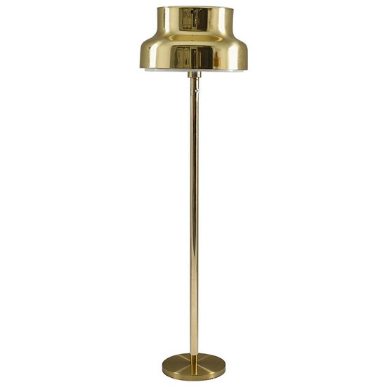 """Swedish """"Bumling"""" Floor Lamp in Brass by Anders Pehrson for Ateljé Lyktan"""