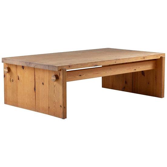 Scandinavian Coffee Table in Pine by Yngve Ekström