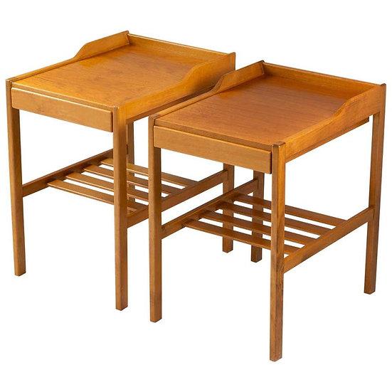 copy of Scandinavian Midcentury Bedside Tables by Bertil Fridhagen for Bodafors,