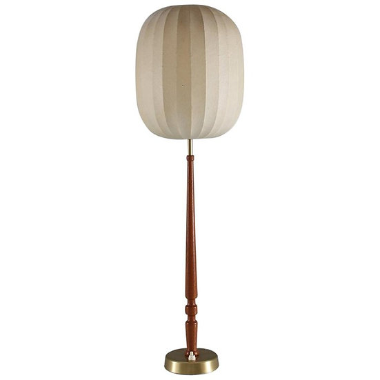 Swedish Midcentury Table Lamp by Hans Bergström Modell 743
