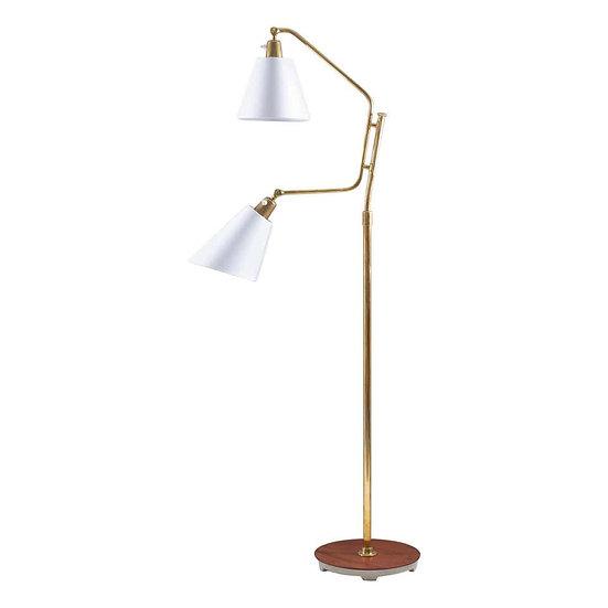 Scandinavian Midcentury Floor Lamp by Bertil Brisborg for NK