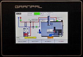 Kocioł na owies - Granpal Eco - panel sterownia