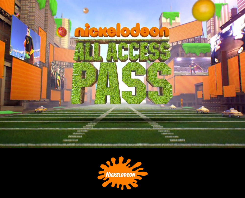 Nickelodeon All Access Pass