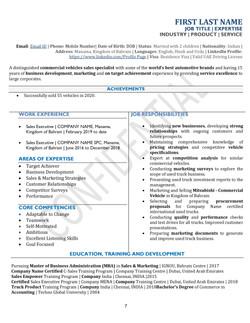 Compact CV and Resume