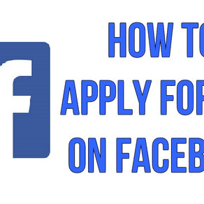 Things to keep in mind while applying for a job on Facebook