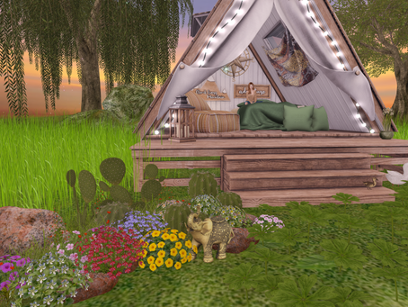 """Is this what they call """"Glamping?"""""""
