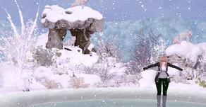 Snowy Olympics