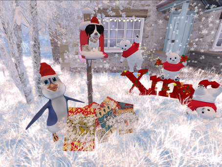 Second Life Christmas Expo