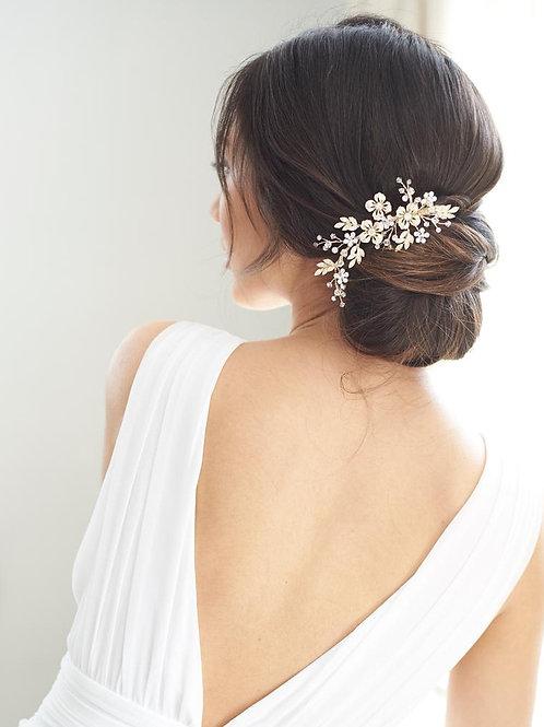 Jasmine Floral Comb