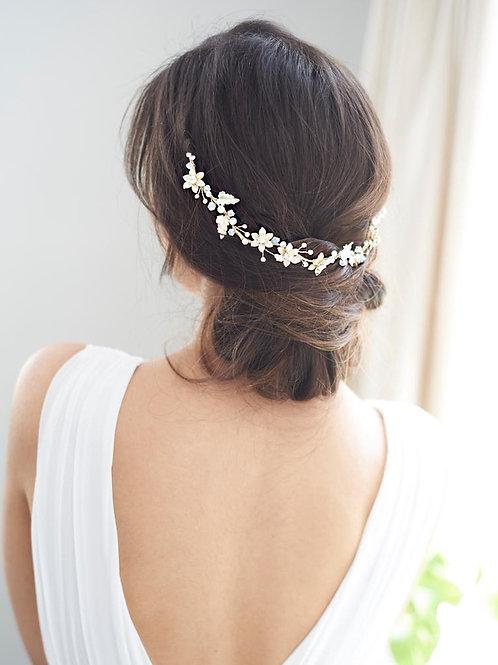 Victoria Floral Hair Vine