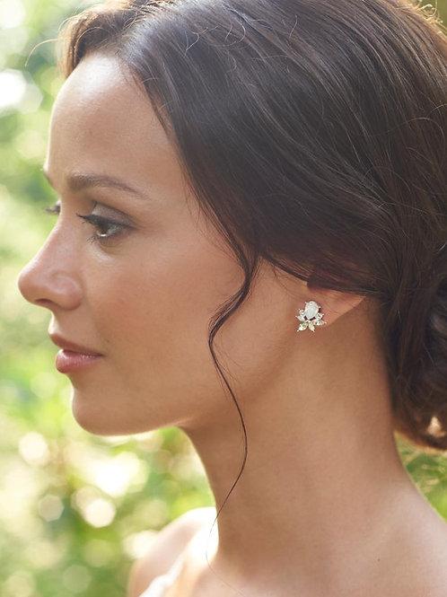 Anastasia Opal Cluster Earrings