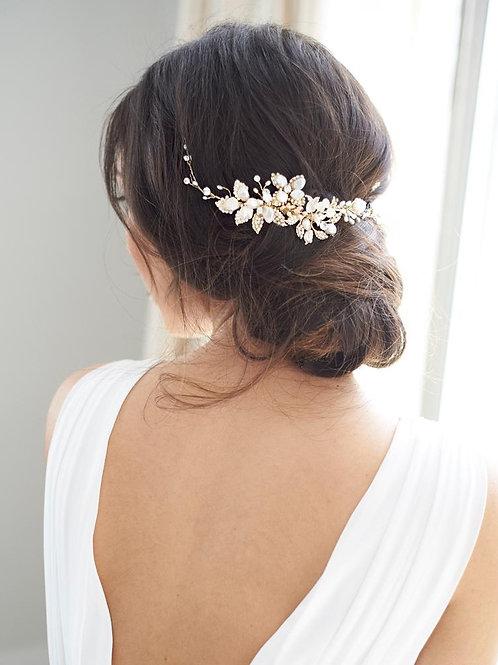 Leona Bridal Hair Vine