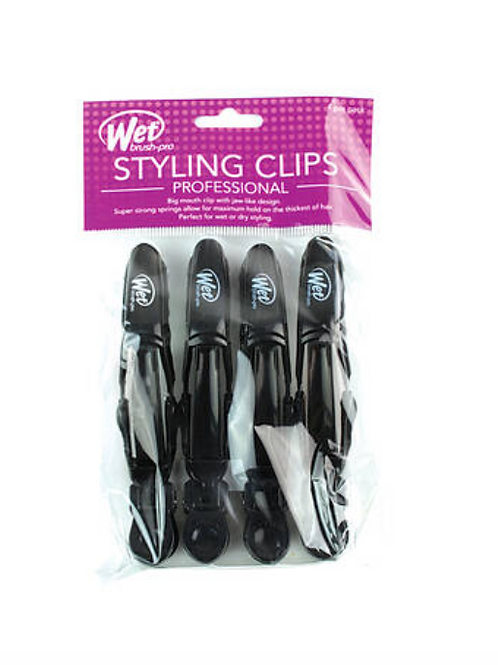 Wet Brush Pro Double Hinge Clips 4-Pack