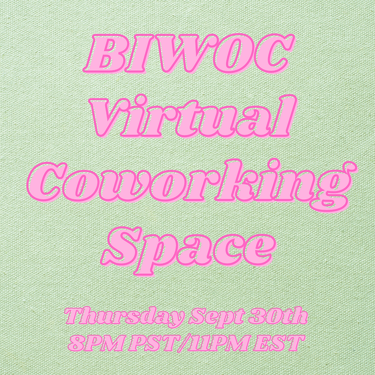 Night Owl Virtual Workspace for BIWOC Small Business Owners  & Creatives (1)