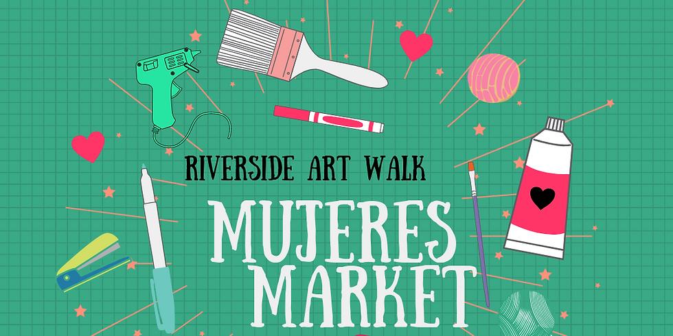 Riverside Mujeres Market Sept 5th