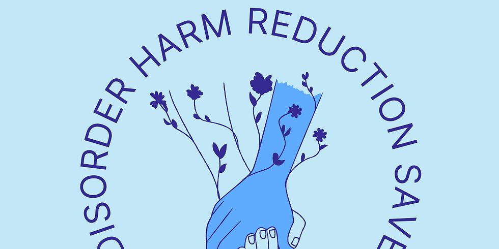 Eating Disorders Harm Reduction Discounted Rate Access