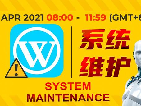 【维护资讯通知】 【Maintenance Notice】