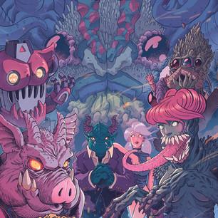 Death Monster Super Squad