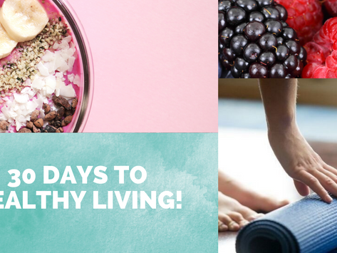 Lydia's'30 Days to Healthy Living' journey...