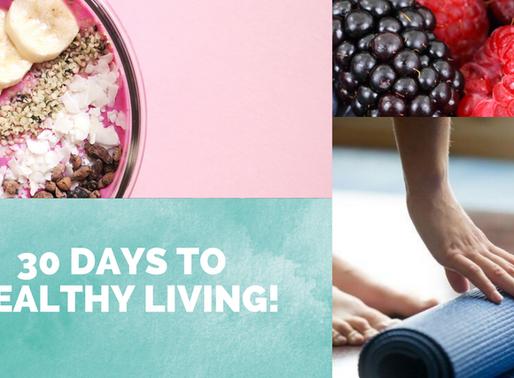 Lydia's '30 Days to Healthy Living' journey...