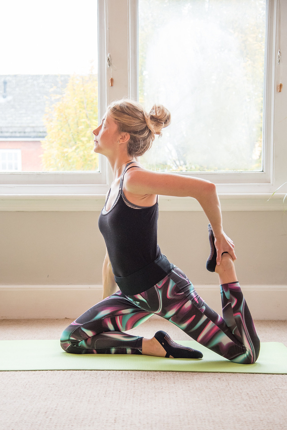 hip flexor stretch Pilates, Leighton Buzzard, Bedfordshire