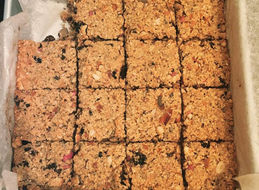 Refined sugar free flapjacks #HappyFriday