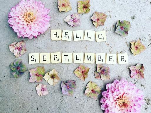 September Solace | New Beginnings | Goals