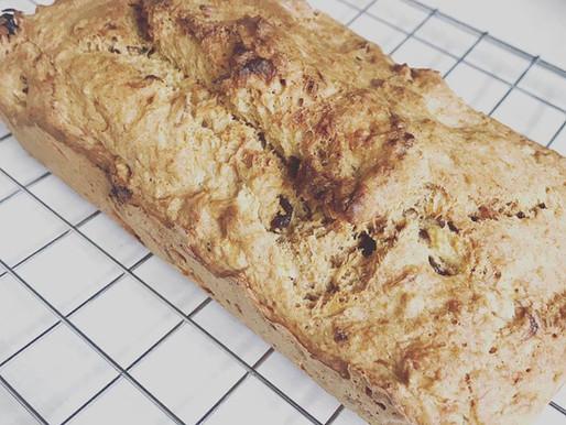 My nearly famous banana bread!
