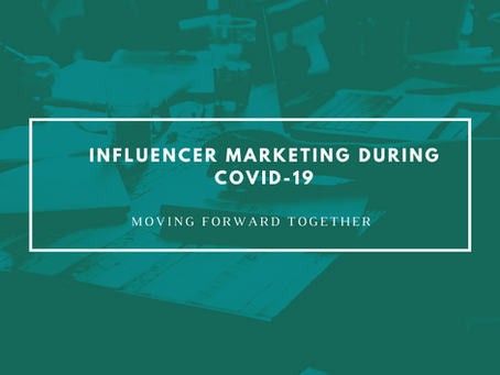 Influencer Marketing Is The Next Big Thing Amidst COVID 19 And Here's Why!
