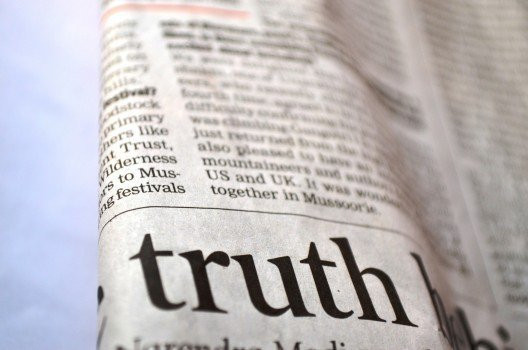 Truth, Newspaper, News, Printed, Text, Message, Page