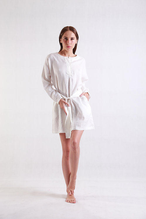 Aorey Dress White