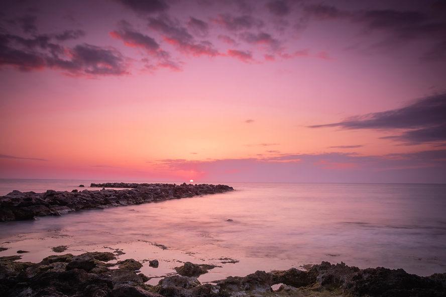 Sunrise over Cala Bona
