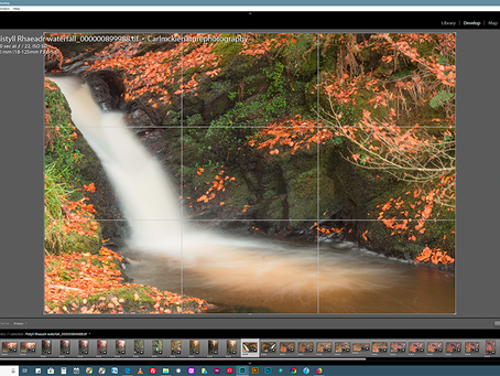 Flip an image in Lightroom