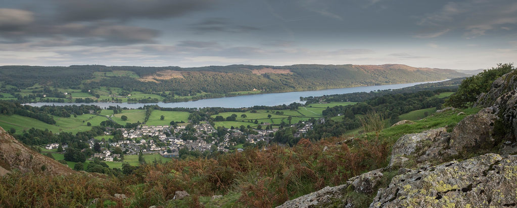 Coniston water at dawn