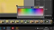 Lightroom colour picker tool