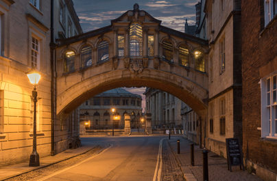 Hertford bridge, (bridge of sighs), Oxford