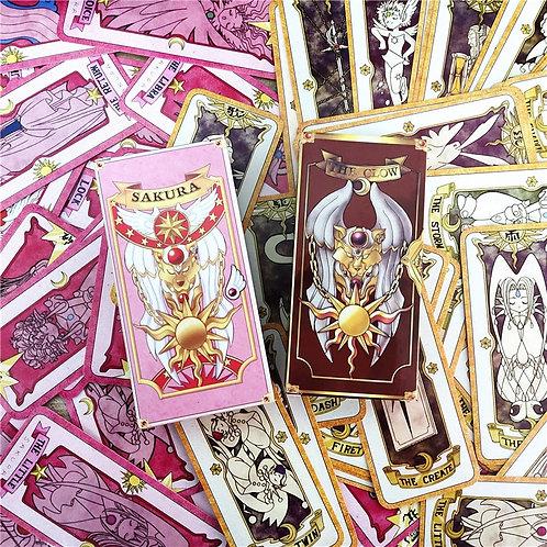 1 Set Anime Cardcaptor Sakura Clow Card Tarot