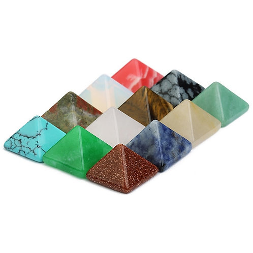 Reiki Quartz Piramide Healing Stone Crystals Wicca