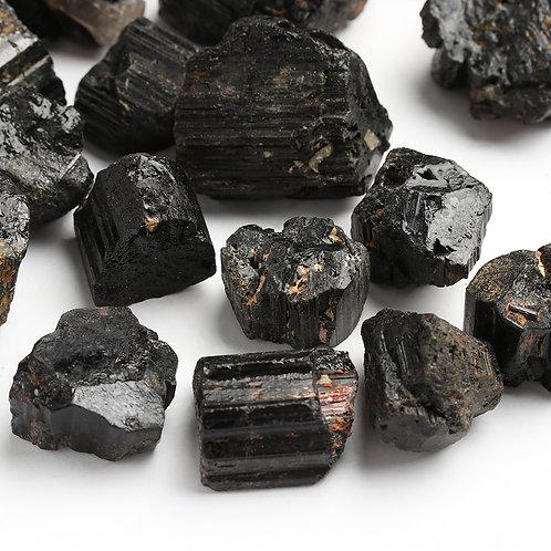 Natural Black Tourmaline Crystal