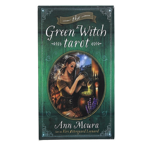 78 Pcs Oracle Tarot Cards the Green Witch Tarot Oracle Oracle