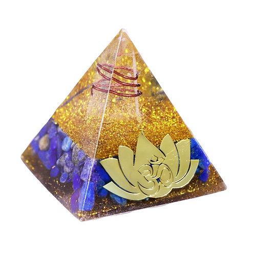 Lotus Energy Healing Meditation Pyramid