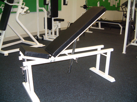 Adjustable Flat/Incline Bench