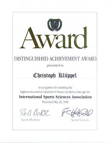 ISSA Distinguished Achievement Award.JPG