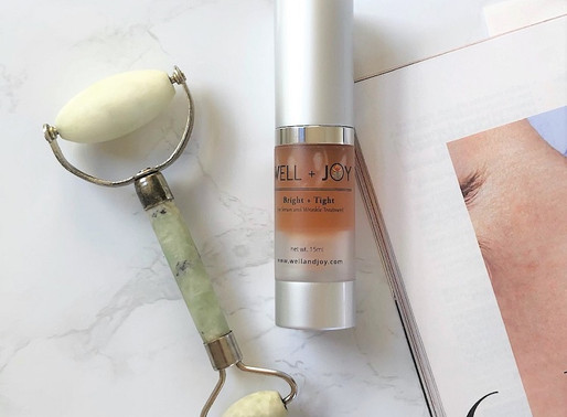 Review: Well + Joy Bright and Tight Eye Serum and Wrinkle Treatment