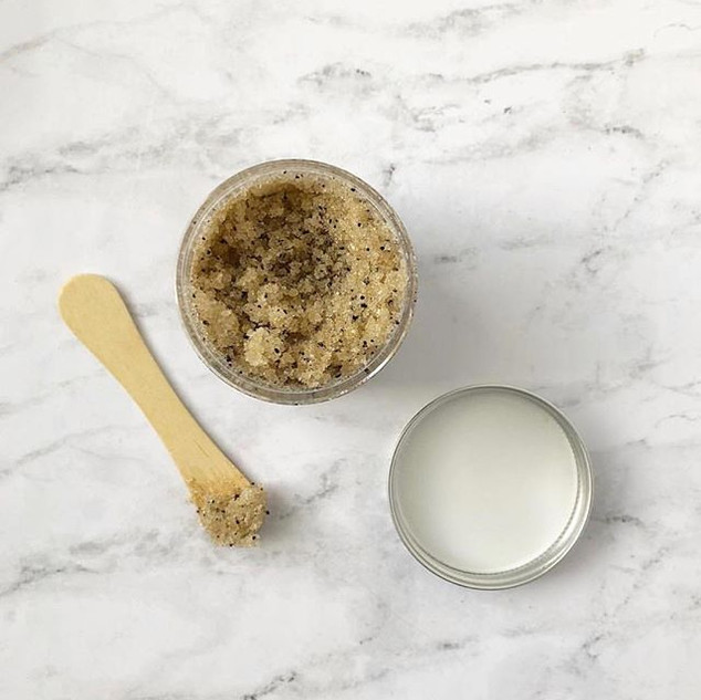 Coffee sugar scrub via _sitronubathprodu