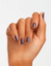 nude nail polish + opi browns nail polis