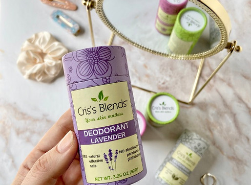 Review: Cris's Blends All-Natural Deodorant