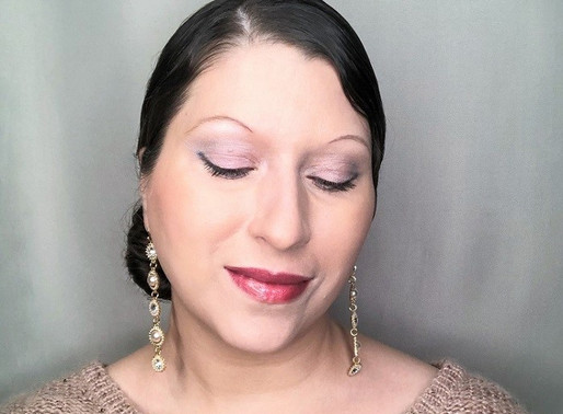 A Soft Silver and Pink Makeup Look for the Holidays featuring L'BRI PURE n' NATURAL